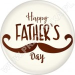 Happy FATHER'S Day - magnes z otwieraczem 56mm