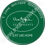 Przypinka Antique Apartaments - Just like home