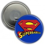 Superbabcia - magnes 56mm