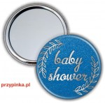 Elegant Boy - Baby Shower - lusterko 56mm
