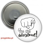 You are AWSOME! - magnes 56mm