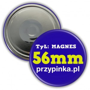 56mm Magnes okrągły