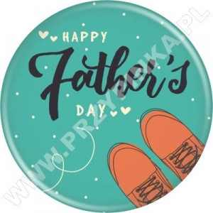 Happy Father's Day - magnes 56mm