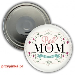 Best Mom in the World - magnes 56mm