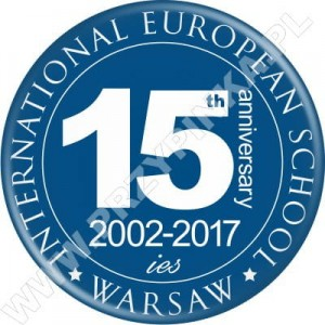 Przypinki International European School Warsaw