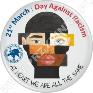 Przypinki Day Against Racism - IES