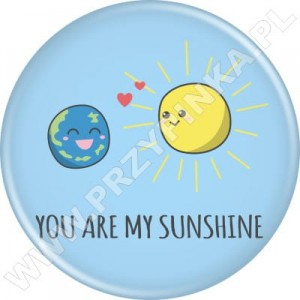 Przypinki You are my sunshine!