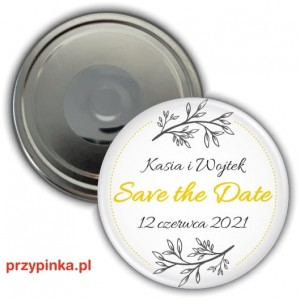 Save the Date - Little Plant - magnes 56mm