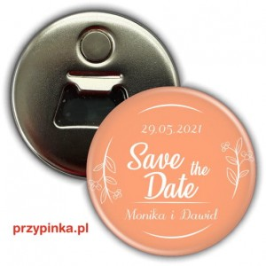 Save the Date - Juicy Melon - magnes z otwieraczem 56mm