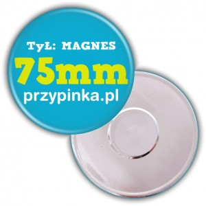 75mm Magnes okrągły
