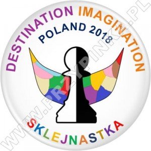 Przypinki Destination Imagination 2018