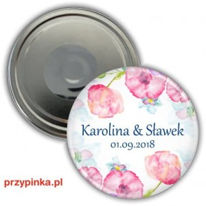 Sweet wedding - magnes 56mm