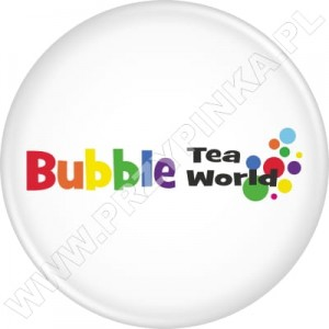 Przypinki Bubble Tea World