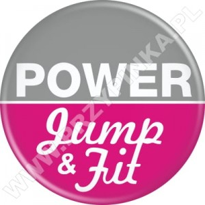 Przypinki Power Jump & Fit