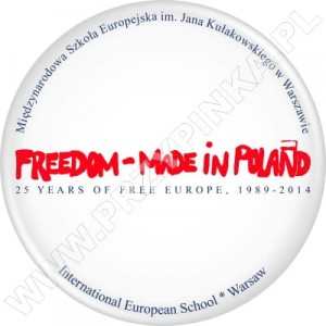 Przypinki Freedom – Made in Poland