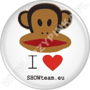Przypinki SHOWteam – I love showteam.eu